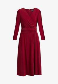 Lauren Ralph Lauren - ZANAHARY - Robe en jersey - vibrant garnet - 3