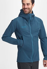 Mammut - AENERGY PRO  - Soft shell jacket - wing teal - 4
