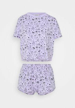 TOVA SET - Pyjama set - zodiac purple