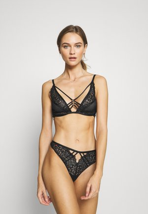 THE CHARMER NON PAD  - Triangle bra - black