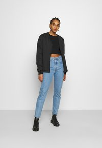 Monki - LINN - Topper langermet - black dark - 1