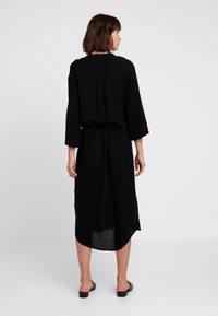 Soaked in Luxury - ZAYA DRESS - Day dress - black - 2