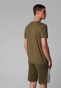 BOSS - T-shirt basique - dark green - 3