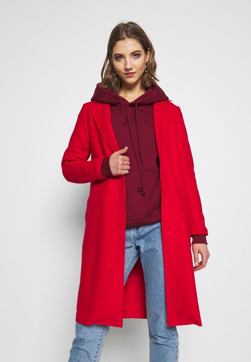 ONLY - ONLAMINA COAT - Zimní kabát - fiery red