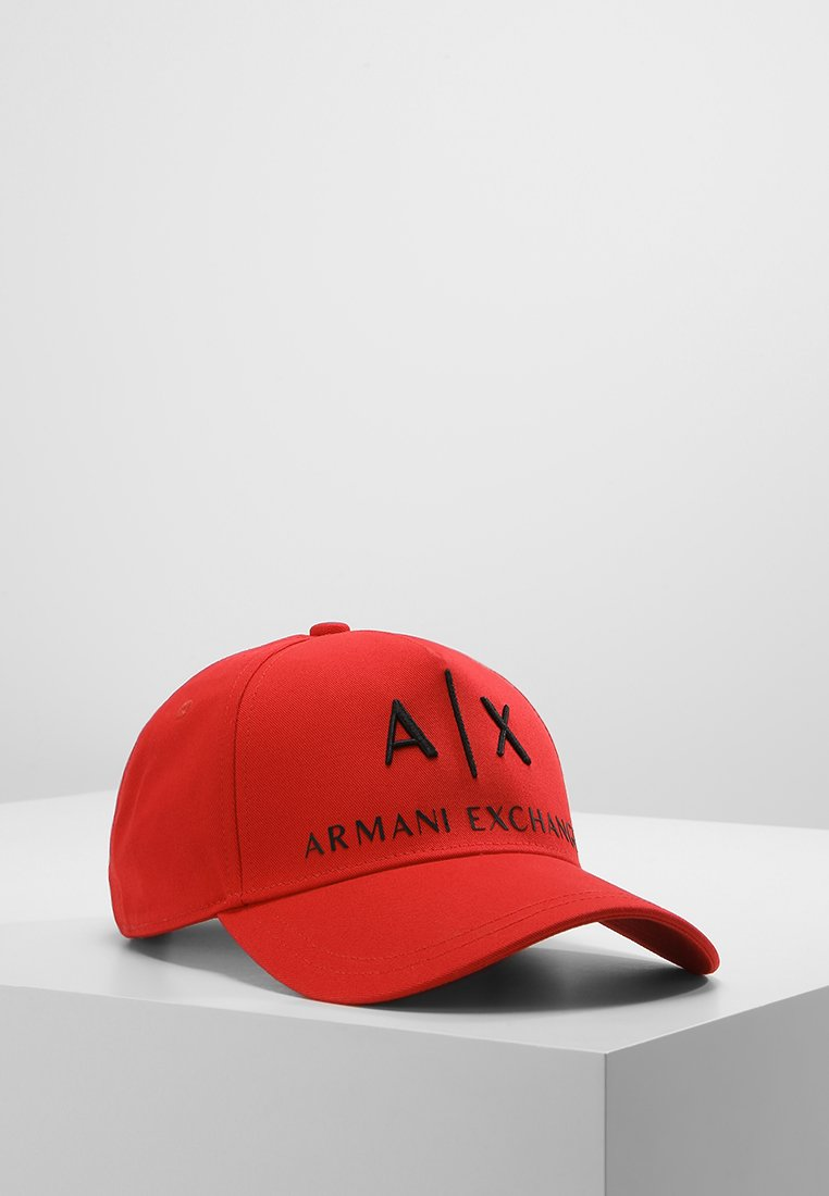 Armani Exchange - Keps - absolute red