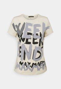 WEEKEND MaxMara - RANA - Print T-shirt - ivory - 3
