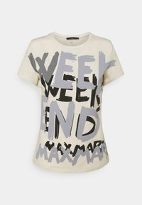 RANA - Print T-shirt - ivory