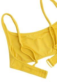 OYSHO - Bikiniöverdel - yellow - 6