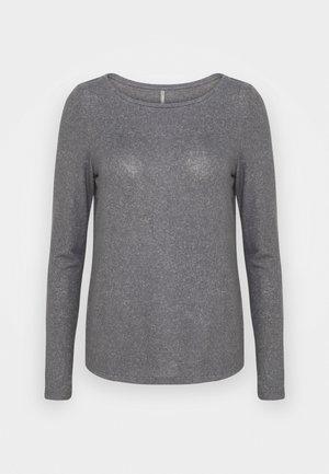 ONLKALA BOAT NECK TOP TALL - Jumper - medium grey melange