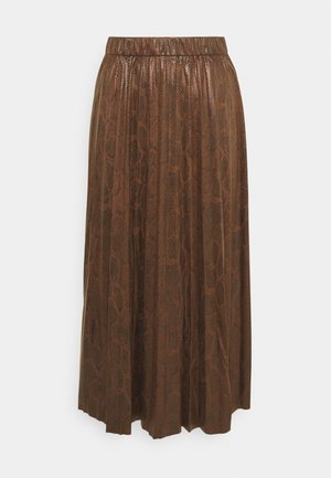 BYEMILA SKIRT - A-lijn rok - chicory coffee