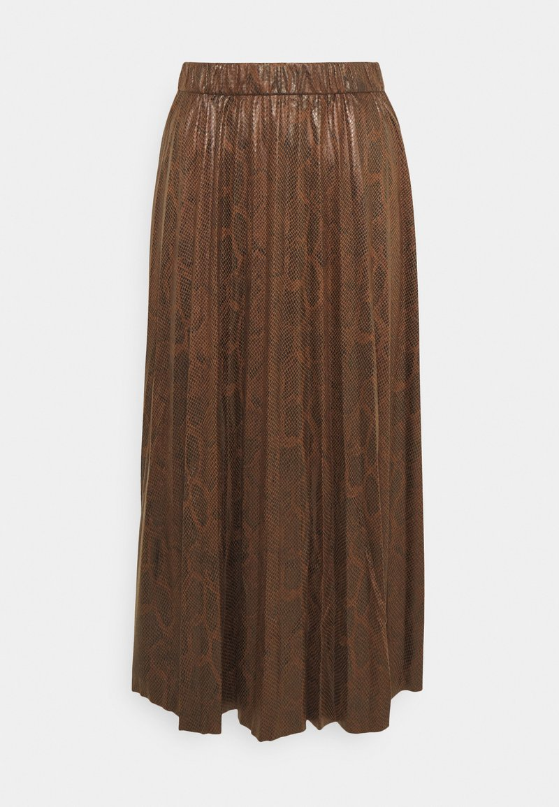 b.young - BYEMILA SKIRT - A-line skirt - chicory coffee
