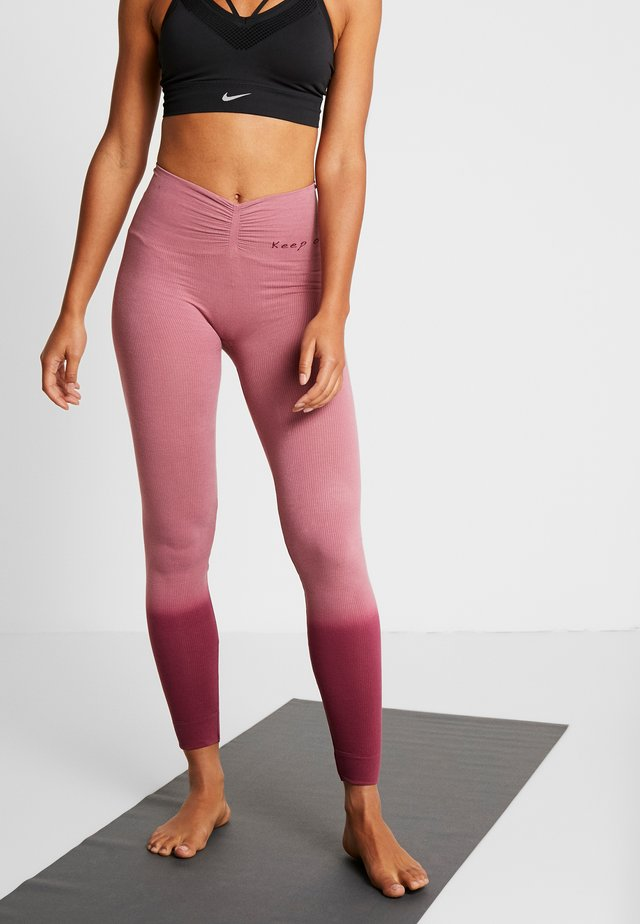 RISHIKESH - Leggings - pink