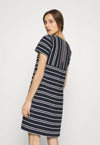Tommy Hilfiger - STELLA SHIFT DRESS  - Day dress - desert sky/white - 2
