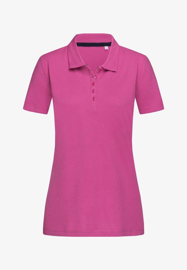 Polo shirt - cupcake pink