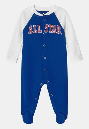 RETRO SPORT FOOTED UNISEX - Sleep suit - white