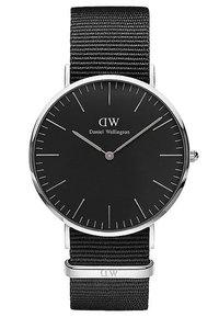 Daniel Wellington - CLASSIC CORNWALL 40MM - Hodinky - silver - 0