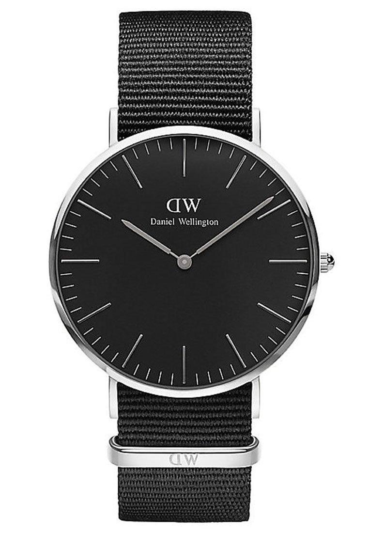 Daniel Wellington - CLASSIC CORNWALL 40MM - Hodinky - silver