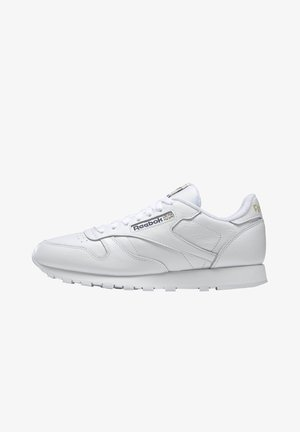 CLASSIC LEATHER SHOES - Sneakers basse - white