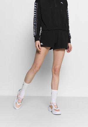 IRISHA - Pantalón corto de deporte - caviar