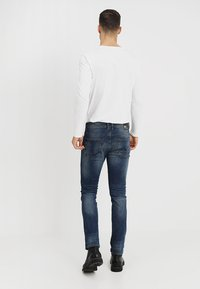 TOM TAILOR DENIM - SLIM AEDAN - Jean slim - mid stone wash denim - 2