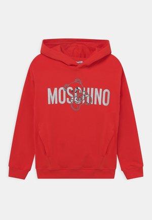 HOODED UNISEX - Sweatshirt - poppy red