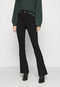 Dr.Denim - MOXY - Flared jeans - black - 0