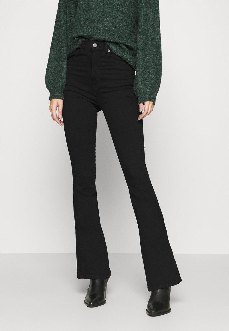 Dr.Denim - MOXY - Flared jeans - black