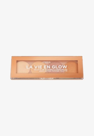 LA VIE EN GLOW HIGHLIGHTER PALETTE - Paleta do makijażu - 1