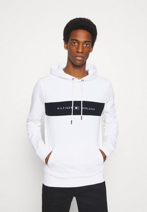 NEW LOGO HOODY - Sweatshirt - white
