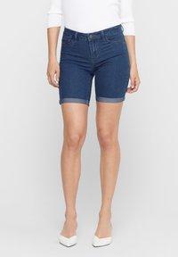 ONLY - ONLSUN ANNE - Denim shorts - medium blue denim - 0