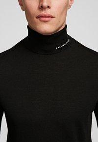 KARL LAGERFELD - Sweter - black - 4
