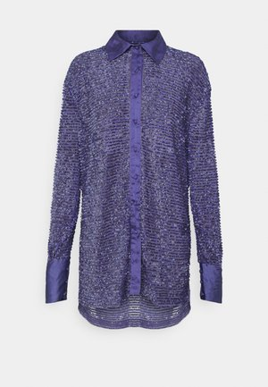 AZURE  - Button-down blouse - azure