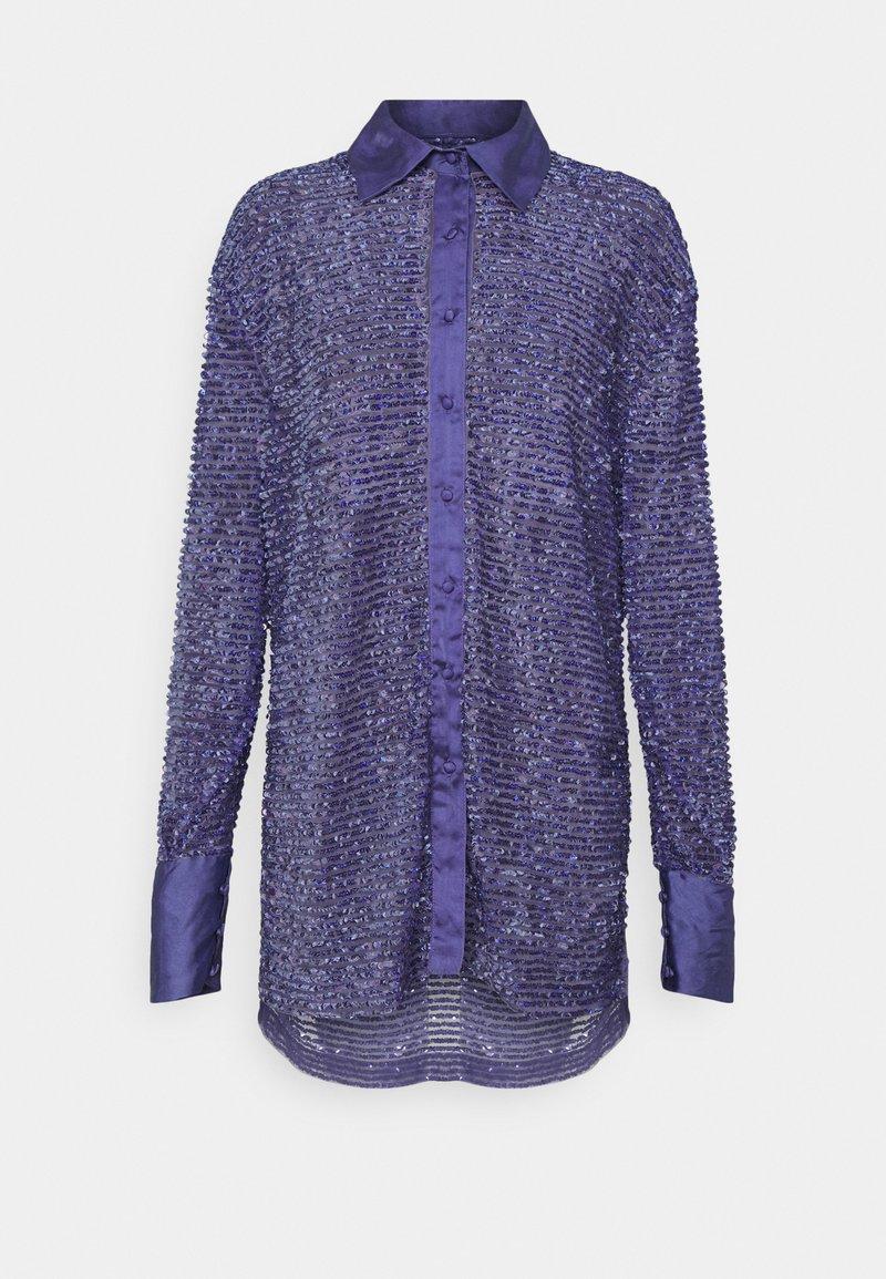 MANÉ - AZURE  - Button-down blouse - azure