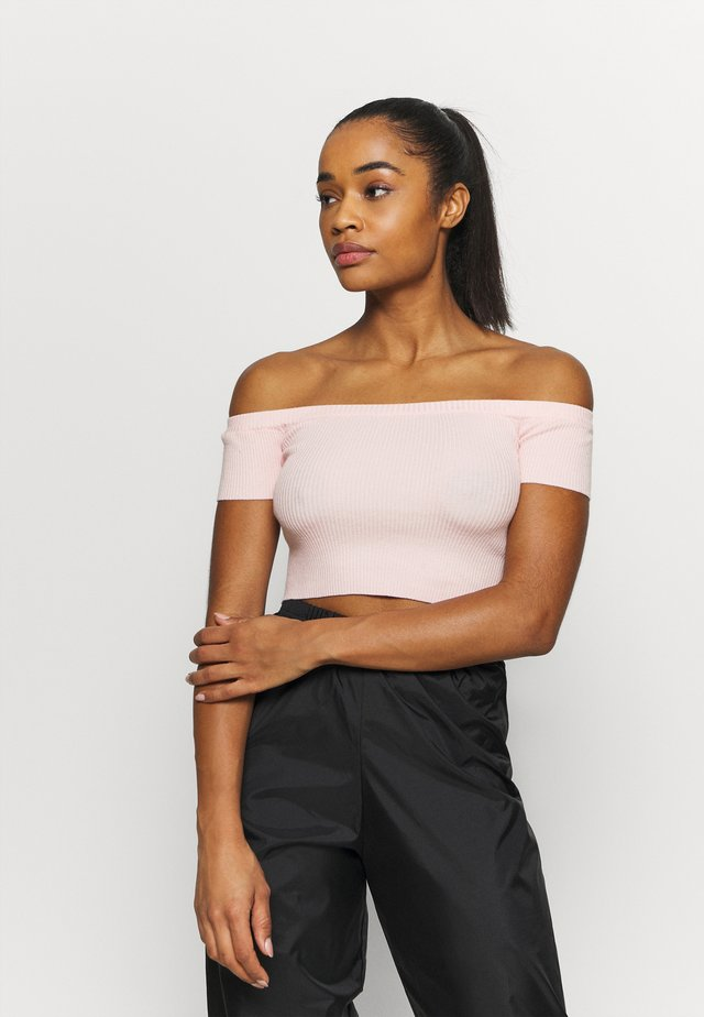 CROPPED - Toppe - pink