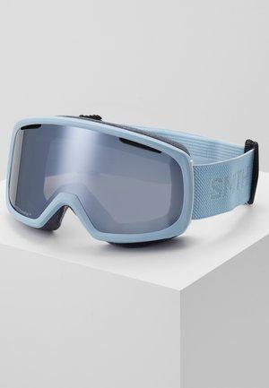 RIOT UNISEX - Occhiali da sci - smokey blue flood
