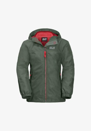 ICELAND 3-IN-1 - Winter jacket - thyme green