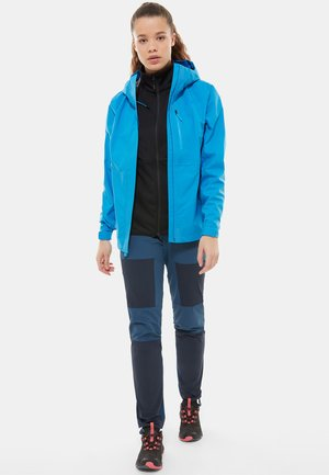 Outdoor jacket - clear lake blue