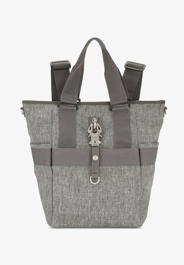 Tote bag - grey melange