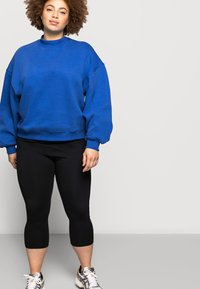 Even&Odd Curvy - CROPPED - Leggings - Trousers - black - 5