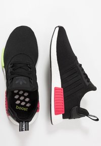 adidas Originals - NMD_R1 - Sneakers - core black/energy pink - 1