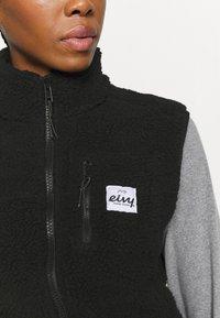Eivy - LUMBER - Waistcoat - black - 5