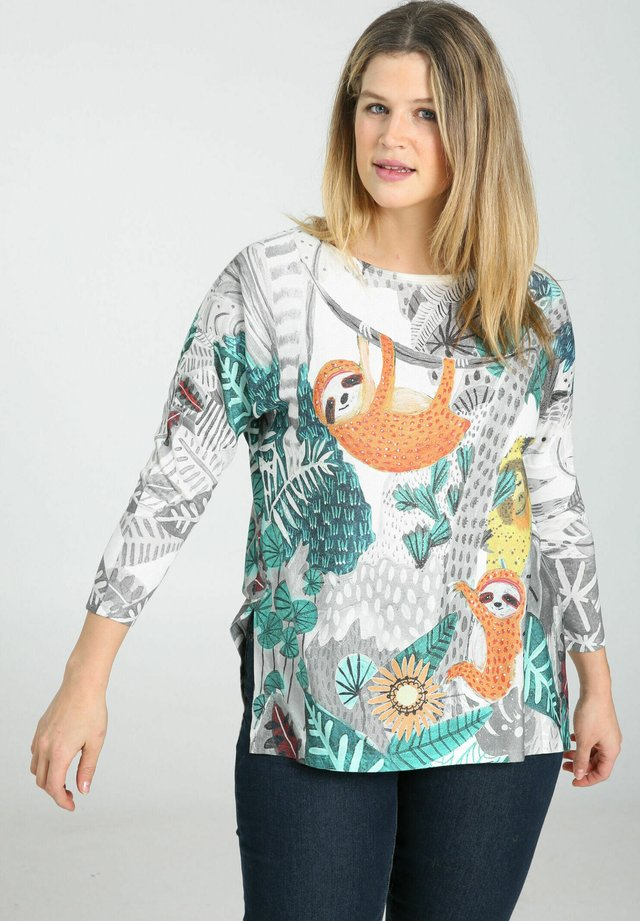 Långärmad tröja - multicolor