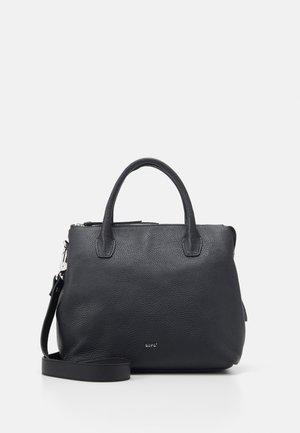 GUNDA  - Handbag - black/nickel