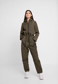 Noisy May - Overall / Jumpsuit /Buksedragter - winter moss - 0