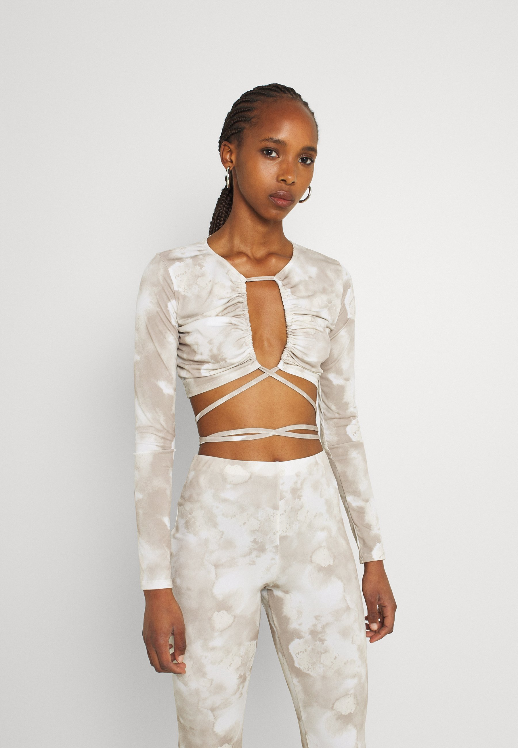 Women TIED UP - Long sleeved top