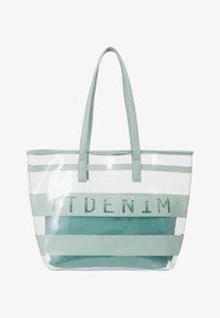 TOM TAILOR DENIM - LINARES SET - Tote bag - mint - 7