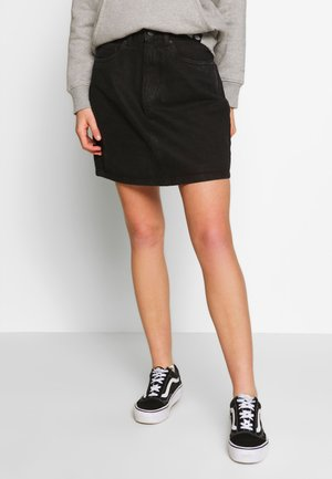 VMKATE SKIRT - Denim skirt - black