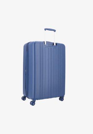 HEDGREN TRANSIT GATE L 4-ROLLEN TROLLEY 76 CM - Wheeled suitcase - navy peony