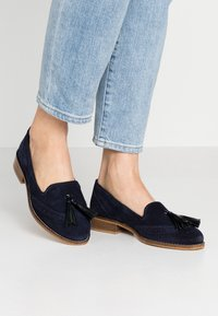 mint&berry wide fit - Slip-ons - dark blue - 0