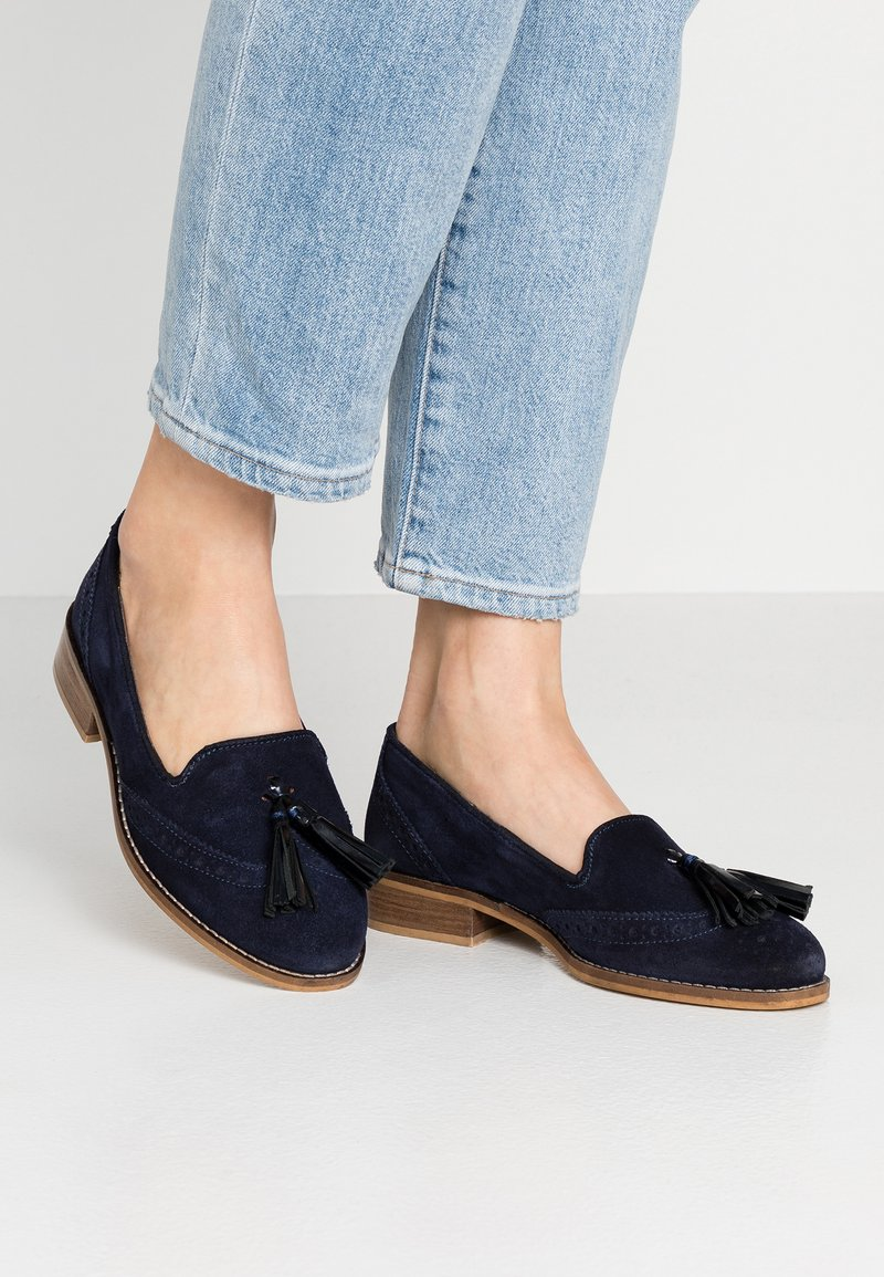 mint&berry wide fit - Slip-ons - dark blue